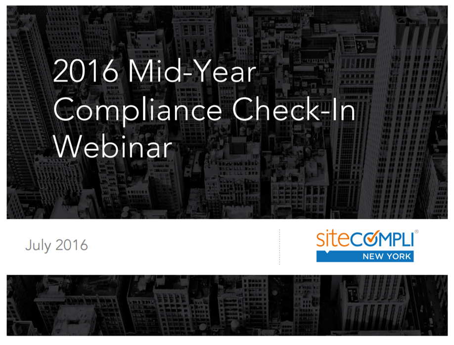 Mid-Year Compliance Check-In and How To Manage Your Compliance